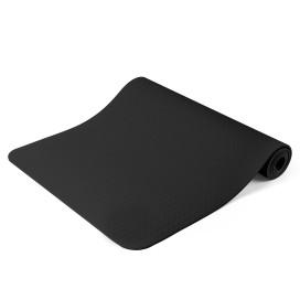 Jóga matrac, ajándék táskával, Fekete