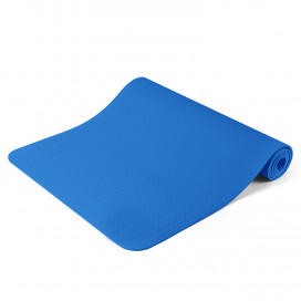Jóga matrac, ajándék táskával, Kék