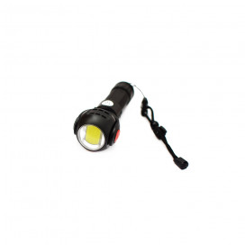 Forgatható fejű LED zseblámpa / 7 állítható világítási mód, USB-ről tölthető