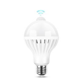 12W mozgásérzékelős LED izzó E27 foglalatba