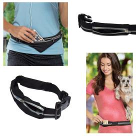Sport övtáska – derékra csatolható sport táska / rugalmas anyagból