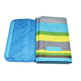 Piknik matrac 150x145 cm - világoskék / ajándék kulcstartóval