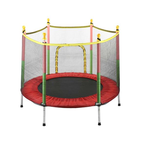 Beltéri trambulin védőhálóval – 140 cm