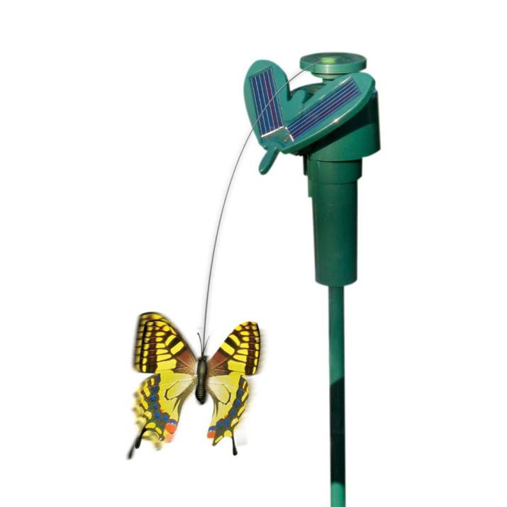 Napelemes, repkedő pillangó / kerti dekoráció