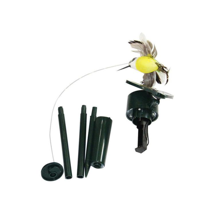 Napelemes, repkedő kolibri / kerti dekoráció
