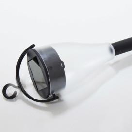 6 db Kültéri napelemes lámpa - IP65 vízállóság, RGB LED fényű, 10 órás működési idő