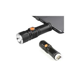 Mini Tech Light LED lámpa zoom funkcióval / USB-ről tölthető
