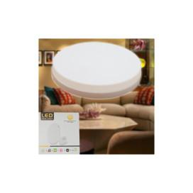 36W kerek UFO LED panel / külső szerelésű, gyorscsatlakozóval - meleg fehér