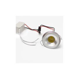 Mini spot lámpa extra erős COB leddel / 3W