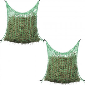 4 db négyzet alakú polipropilén szénaháló 0,9 x 1,5 m - utánvéttel vagy ingyenes szállítással