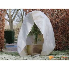 Nature bézs téli cipzáras gyapjútakaró 70 g/m2 2 x 1,5 x 1,5 m - utánvéttel vagy ingyenes szállítással