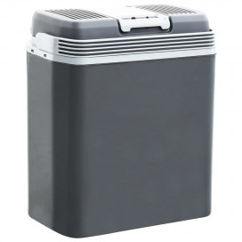 Hordozható termoelektromos hűtőláda 24 L 12 V 230 V A+++ - utánvéttel vagy ingyenes szállítással