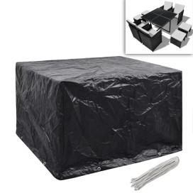 2 db védőhuzat 4 személyes polyrattan szetthez 113 x 113 cm - utánvéttel vagy ingyenes szállítással