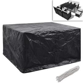 2 db védőhuzat 6 személyes polyrattan szetthez 172 x 113 cm - utánvéttel vagy ingyenes szállítással