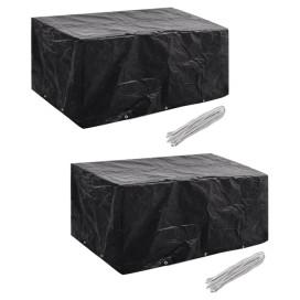 2 db védőhuzat 6 személyes polyrattan szetthez 240 x 140 cm - utánvéttel vagy ingyenes szállítással