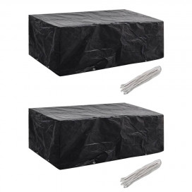 2 db kertibútor-huzat 8 fűzőlyukkal 200 x 160 x 70 cm - utánvéttel vagy ingyenes szállítással
