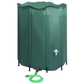 összecsukható esővízgyűjtő tartály csappal 1000 l - utánvéttel vagy ingyenes szállítással