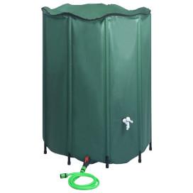 összecsukható esővízgyűjtő tartály csappal 1250 l - utánvéttel vagy ingyenes szállítással