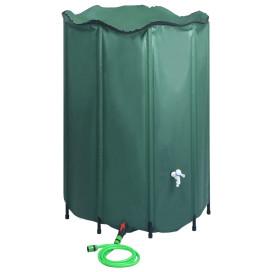 összecsukható esővízgyűjtő tartály csappal 1500 l - utánvéttel vagy ingyenes szállítással