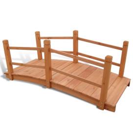 Kerti híd 140 x 60 x 56 cm - utánvéttel vagy ingyenes szállítással