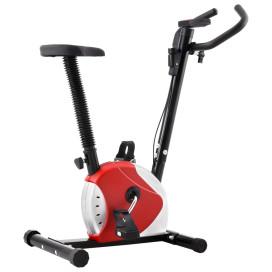 Piros szíjhajtású szobakerékpár - utánvéttel vagy ingyenes szállítással