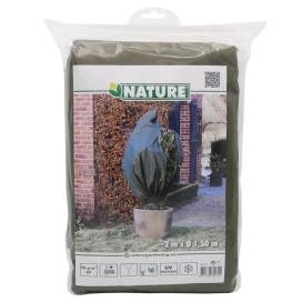 Nature zöld téli gyapjútakaró 70 g/m² 1,5 x 2 m - utánvéttel vagy ingyenes szállítással