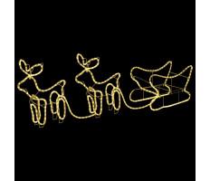 Rénszarvasok és szán kültéri karácsonyi dekoráció 576 LED-del - utánvéttel vagy ingyenes szállítással