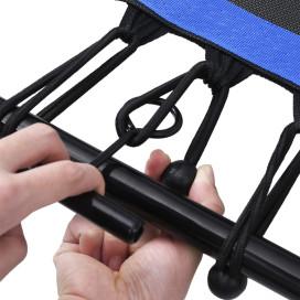 Hatszögletű fitnesz trambulin kapaszkodóval és biztonsági párnázással 122 cm - utánvéttel vagy ingyenes szállítással