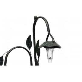 Napelemes viragkosár LED világítással - utánvéttel vagy ingyenes szállítással