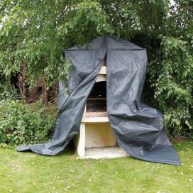Nature kerti bútor védőhuzat épített grillsütőhöz 253 x 128 x 80 cm - utánvéttel vagy ingyenes szállítással