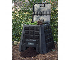 Nature 6071480 fekete komposztáló láda 400 L - utánvéttel vagy ingyenes szállítással