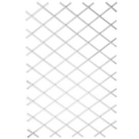 Nature 50x150 cm kerti PVC lugas rács fehér 6040701 - utánvéttel vagy ingyenes szállítással