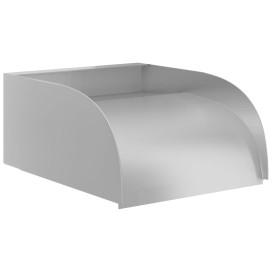 304-es rozsdamentes acél vízesés 30 x 34 x 14 cm - utánvéttel vagy ingyenes szállítással