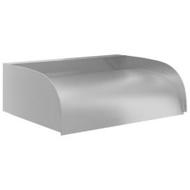 304-es rozsdamentes acél vízesés 45 x 34 x 14 cm - utánvéttel vagy ingyenes szállítással