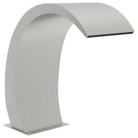 304-es rozsdamentes acél medenceszökőkút LED-ekkel 30x60x70 cm - utánvéttel vagy ingyenes szállítással