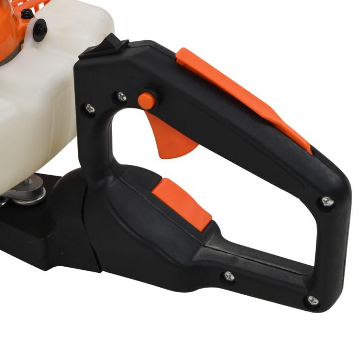 Narancssárga-fekete benzines sövénynyíró 722 mm - utánvéttel vagy ingyenes szállítással