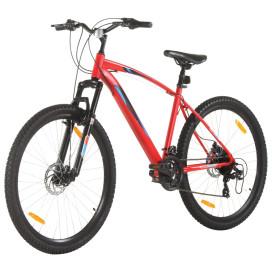 21 sebességes piros mountain bike 48 hüvelykes kerékkel 48 cm - utánvéttel vagy ingyenes szállítással