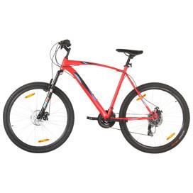 21 sebességes piros mountain bike 29 hüvelykes kerékkel 58 cm - utánvéttel vagy ingyenes szállítással