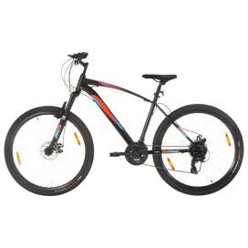 21 sebességes fekete mountain bike 29 hüvelykes kerékkel 48 cm - utánvéttel vagy ingyenes szállítással