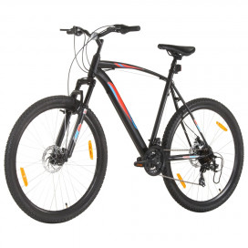 21 sebességes fekete mountain bike 29 hüvelykes kerékkel 53 cm - utánvéttel vagy ingyenes szállítással