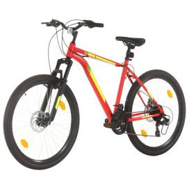 21 sebességes piros mountain bike 27,5 hüvelykes kerékkel 42 cm - utánvéttel vagy ingyenes szállítással