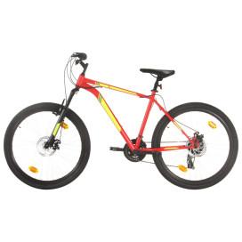21 sebességes piros mountain bike 27,5 hüvelykes kerékkel 50 cm - utánvéttel vagy ingyenes szállítással