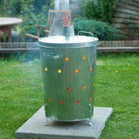 Nature 46x72 cm galvanizált acél kerti hulladékége...