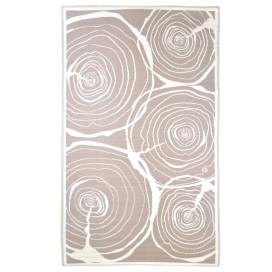 Esschert Design évgyűrű mintás kültéri szőnyeg 240 x 150 cm - utánvéttel vagy ingyenes szállítással