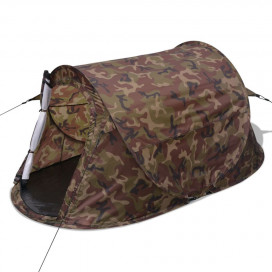2 személyes terepszínű pop-up sátor - utánvéttel vagy ingyenes szállítással