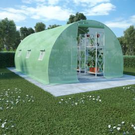 13,5 m²-es acélalapzatú melegház 450 x 300 x 200 cm - utánvéttel vagy ingyenes szállítással