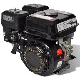 6,5 HP 4,8 kW Fekete Benzinmotor - utánvéttel vagy ingyenes szállítással