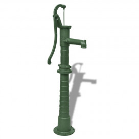 Kerti öntöttvas pumpás kút állvánnyal - utánvéttel vagy ingyenes szállítással