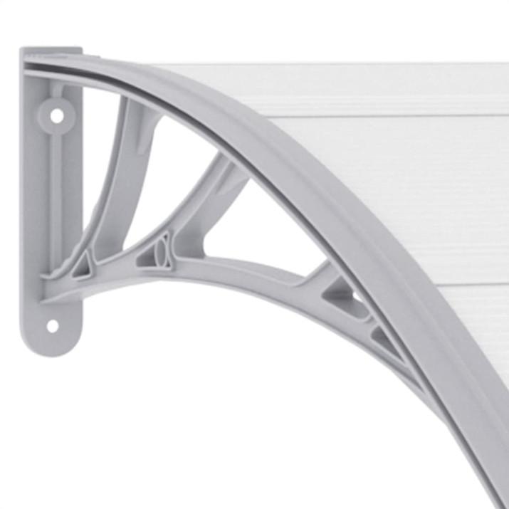 Szürke műanyag ajtóelőtető 120 x 100 cm - utánvéttel vagy ingyenes szállítással