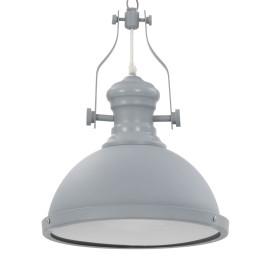 Szürke kerek mennyezeti lámpa E27 izzófoglalattal - utánvéttel vagy ingyenes szállítással